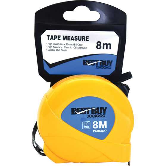 Best Buy Tape Measure - 8m, , scaau_hi-res