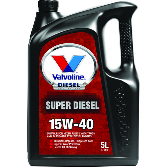 Valvoline Super Diesel Engine Oil -15W-40 5 Litre, , scaau_hi-res