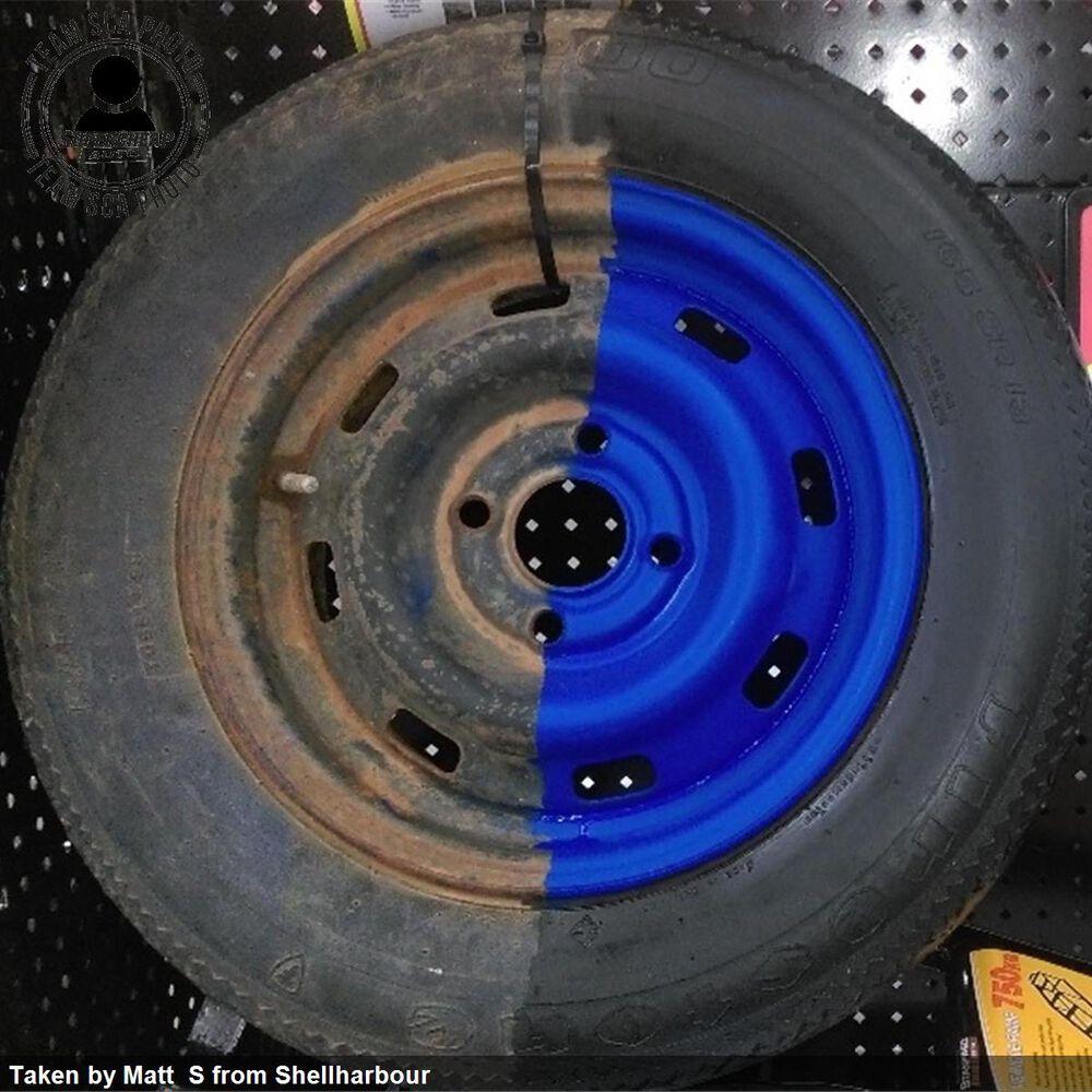 Dupli Color Aerosol Paint Custom Wrap Matte Patriot Blue