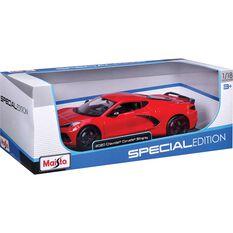 Die Cast 2020 Corvette Sting Ray 1:18 Scale Model, , scaau_hi-res