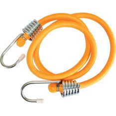 SCA Metal Hook Bungee Cord - 90cm, Orange, , scaau_hi-res