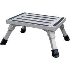 SCA Caravan Folding Step, Aluminium - Medium, , scaau_hi-res