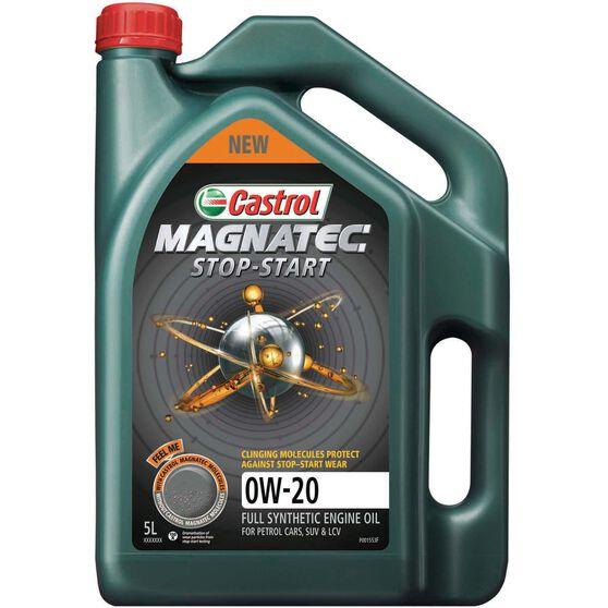 Castrol MAGNATEC Stop Start Engine Oil - 0W-20, 5 Litre, , scaau_hi-res