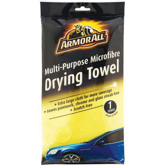 Armor All Microfibre Drying Towel - 590 x 780mm, , scaau_hi-res