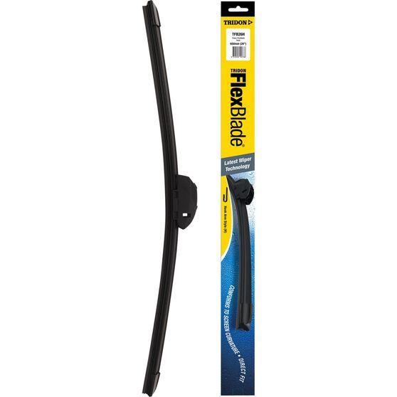 Tridon Flex Blade Single Wiper - 26in, Hook, , scaau_hi-res