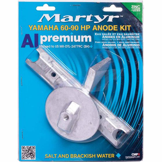Martyr Alloy Outboard Anode Kit -CMY6090KITA, , scaau_hi-res