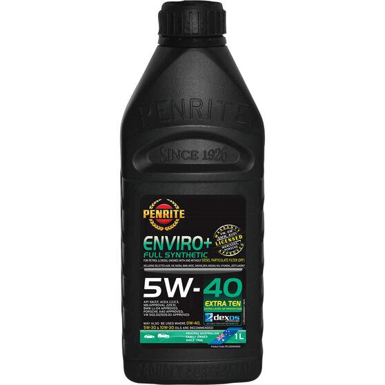 Penrite Enviro+ Engine Oil - 5W-40 1 Litre, , scaau_hi-res