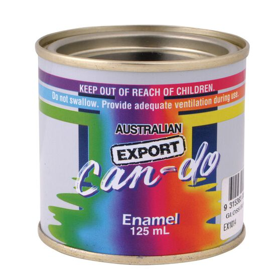 Export Can Do Paint - Enamel, Gloss Yellow, 125mL, , scaau_hi-res