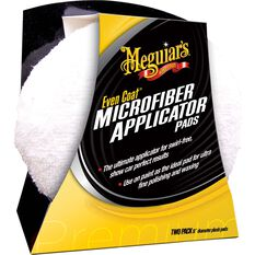 Meguiar's Even Coat Microfibre Applicator Pads 2 Pack, , scaau_hi-res