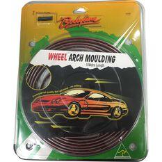 Bodyline Moulding - Wheel Arch, Black / Chrome, 5m, , scaau_hi-res