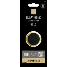 Lynx Vent Mini Air Freshener - Gold, , scaau_hi-res