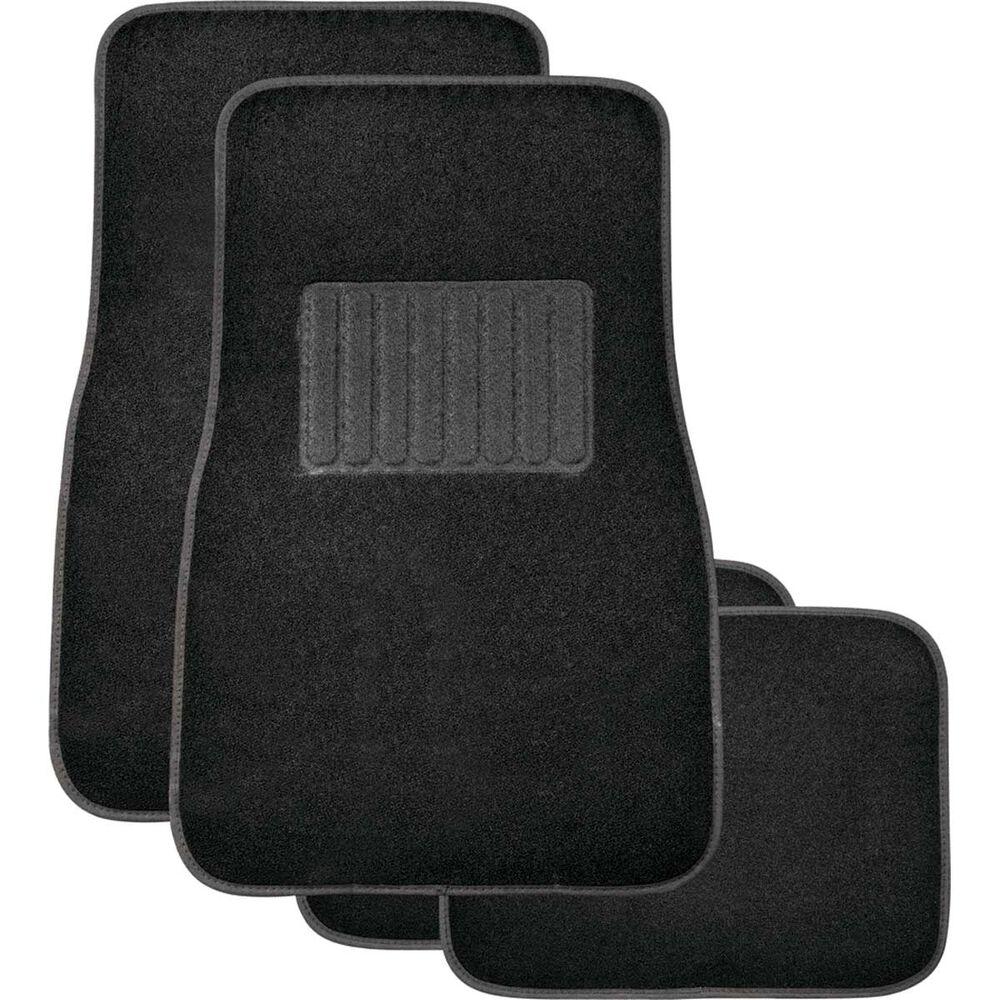 Sca Premier Car Floor Mats Carpet Black Set Of 4