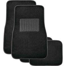Premier Car Floor Mats - Black, Set of 4, , scaau_hi-res