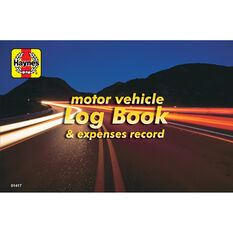 Haynes Log book and Vehicle Expenses - 01417, , scaau_hi-res