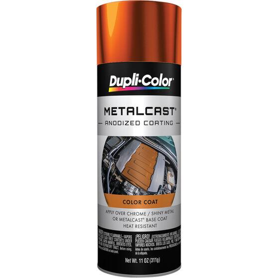 Dupli-Color Metalcast Aerosol Paint - Enamel, Orange Anodised, 311g, , scaau_hi-res