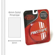SAAS Pinstripe Solid White 6mm x 10m, , scaau_hi-res