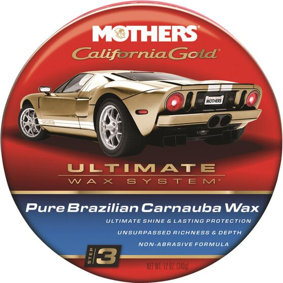 Mothers California Gold Pure Brazilian Carnauba Wax 340g, , scaau_hi-res
