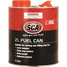 SCA Metal Fuel Can 2 Litre, , scaau_hi-res