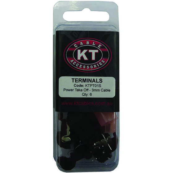 KT Cable Power Take Off - Red, 6 Pack, , scaau_hi-res