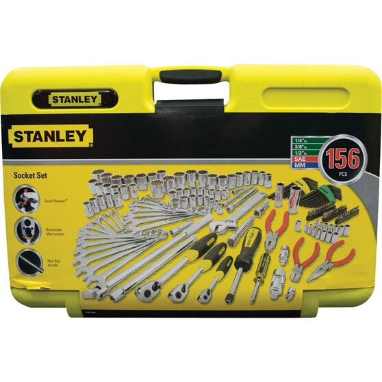Stanley Trade Tool Kit - 156 Piece, , scaau_hi-res