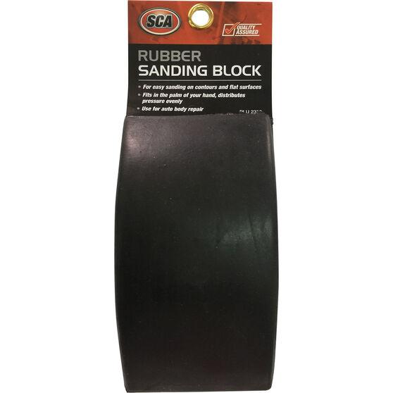 Sanding Block, Rubber, , scaau_hi-res