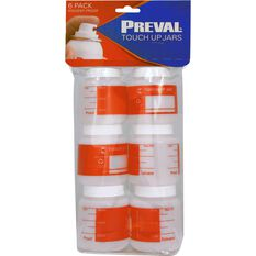 Preval Touch Up Jars - 6 Pack, , scaau_hi-res