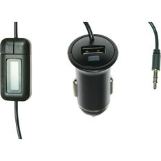 Aerpro FM Transmitter with USB Charger, , scaau_hi-res