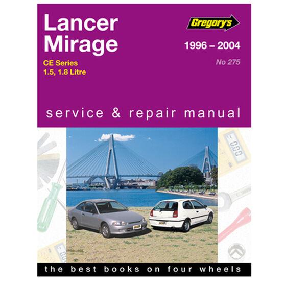 Gregory's Car Manual For Mitsubishi Lancer / Mirage 1996-2004 - 275