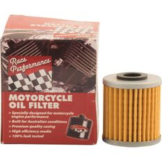 Race Performance Motorcycle Oil Filter - RP145, , scaau_hi-res