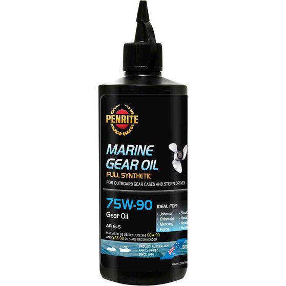 Penrite Marine Gear Oil - 75W-90, 500mL, , scaau_hi-res