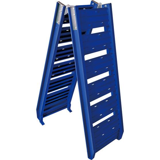 SCA Loading Ramp, Aluminium, Blue, Single - 220kg, , scaau_hi-res
