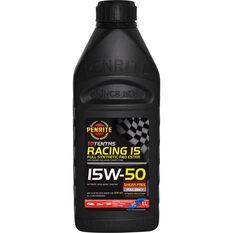 Penrite 10 Tenths Racing 15 Engine Oil - 15W-50 1 Litre, , scaau_hi-res
