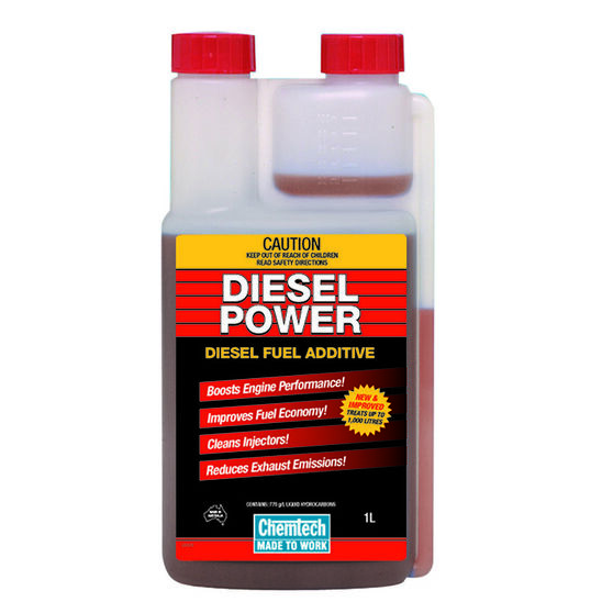 Chemtech Diesel Power Fuel Additive - 1 Litre, , scaau_hi-res