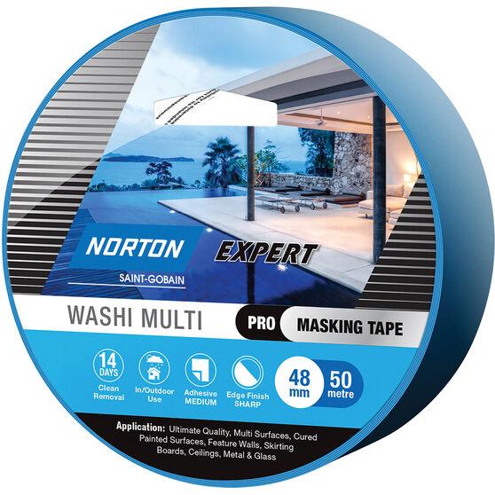 Norton Expert 14 Day Masking Tape - 48mm x 50m, , scaau_hi-res