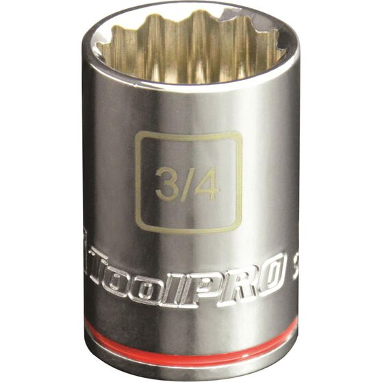 ToolPro Single Socket - 1 / 2 inch Drive, 3 / 4 inch, , scaau_hi-res
