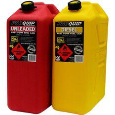 Pro Quip Petrol Jerry Can 20 Litre, , scaau_hi-res
