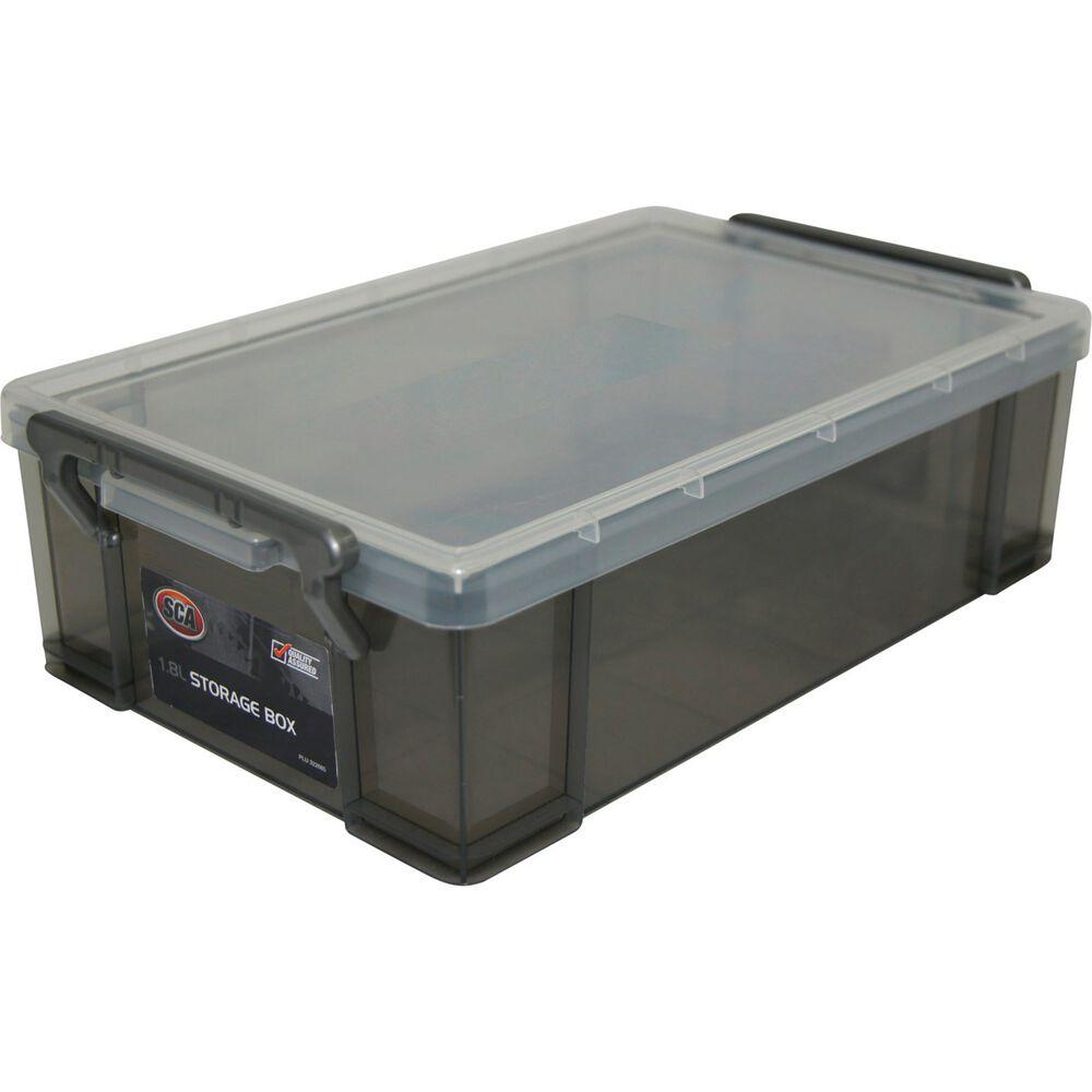 Sca storage box litre supercheap auto