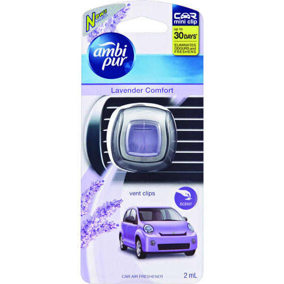 Ambi Pur Air Freshener Mini - Lavender 2mL, , scaau_hi-res