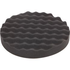 ToolPRO Wave Foam Velcro Polishing Pad 200mm, , scaau_hi-res