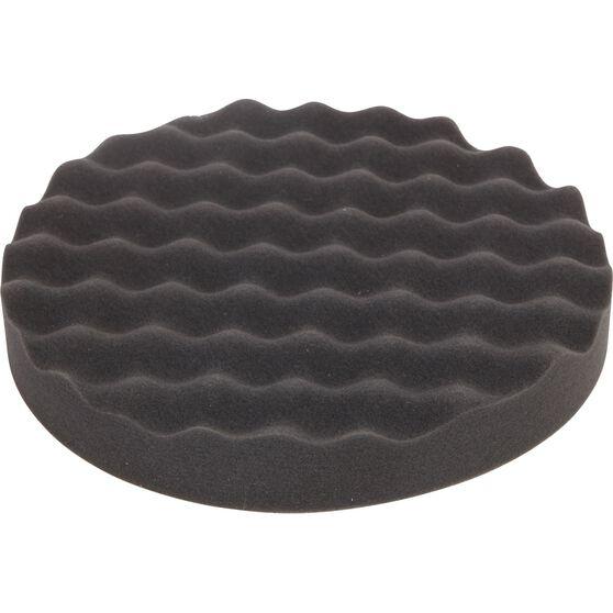 ToolPRO Wave Foam Velcro Polishing Pad 200mm, , scaau_hi-res