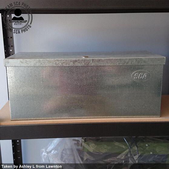 SCA Tool Box - Galvanised, 25 Litre, , scaau_hi-res