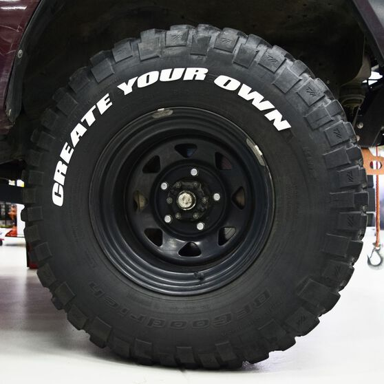 Tire Stickers - Letter O, , scaau_hi-res