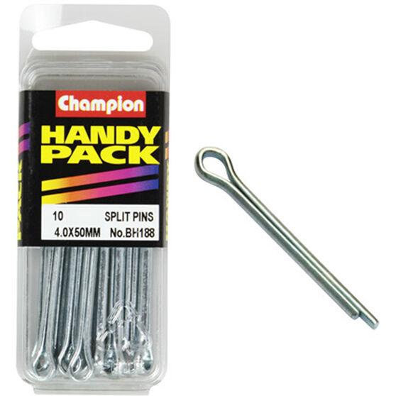 Champion Split Pins - 4mm X 50mm, BH188, Handy Pack, , scaau_hi-res