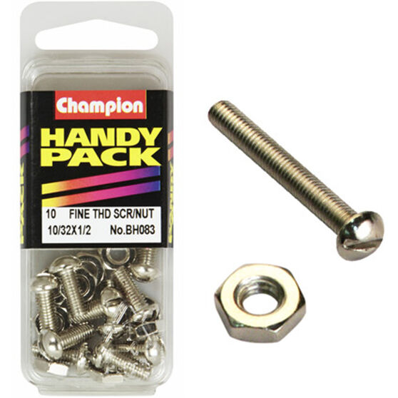 Champion Fine Thread Screws - BH083, , scaau_hi-res