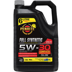 Penrite Full Synthetic Engine Oil 5W-30 6 Litre, , scaau_hi-res
