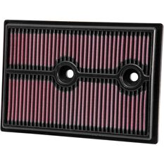 K&N Air Filter 33-3004 (Interchangeable with A1841), , scaau_hi-res
