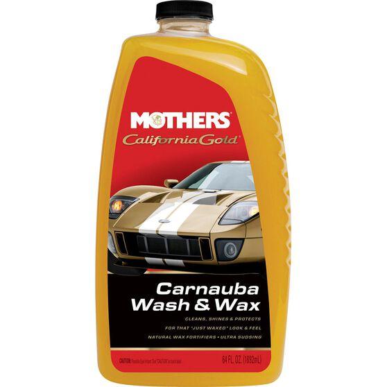 Mothers California Gold Carnauba Wash and Wax - 1.89 Litre, , scaau_hi-res