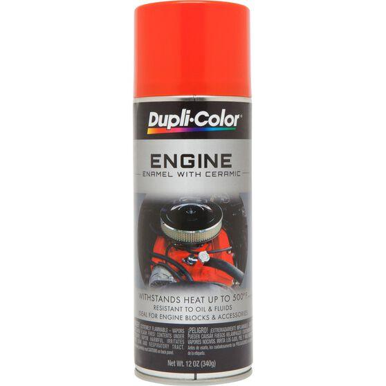 Dupli-Color Engine Enamel Aerosol Paint Rocket Red 340g, , scaau_hi-res