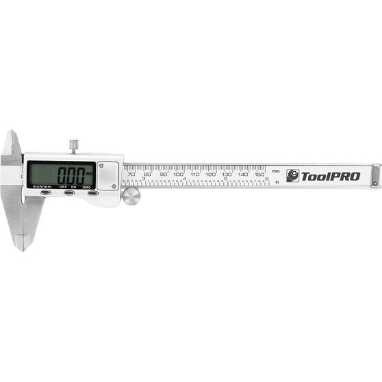 ToolPRO 150mm Digital Vernier Caliper with Case, , scaau_hi-res