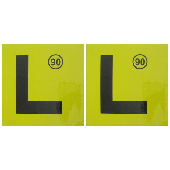 SCA L Plate - Magnetic, NSW (90), 2 Pack, , scaau_hi-res